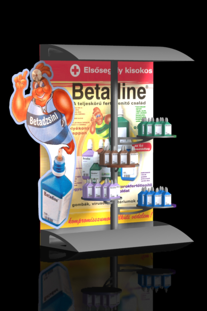 FD 0000 04_Betadine pult display
