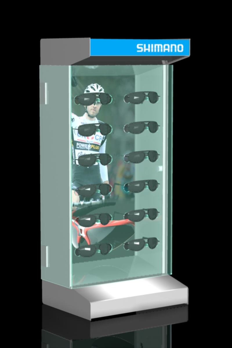 FD 1231 11_Shimano szemuveg display