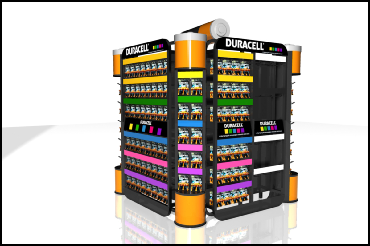 FD 1588 13_Duracell padlo display