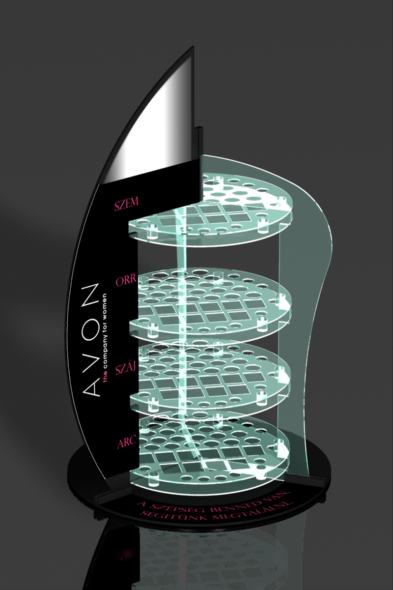 FD 1605 13 Avon pult display