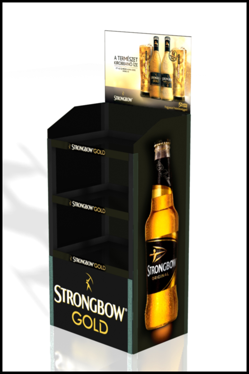 FD 1634 13_Strongbow Gold display