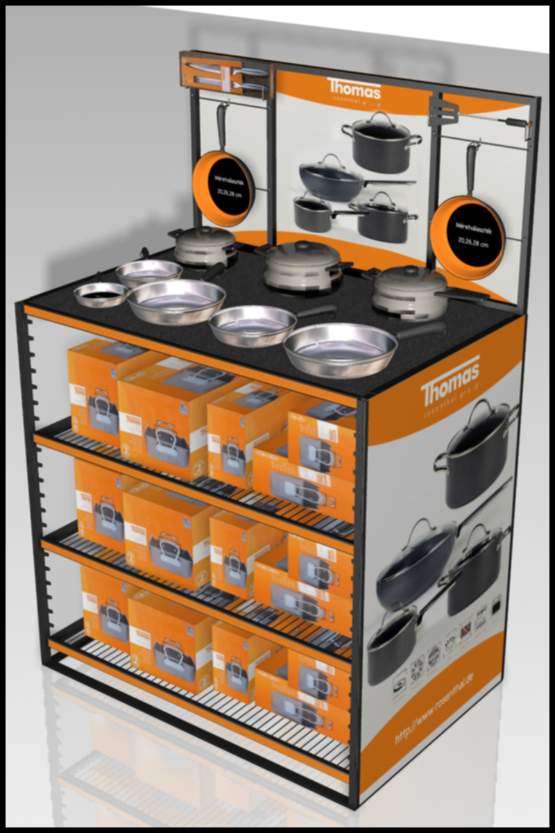 FD 1822 14 08_TCC Cookware display